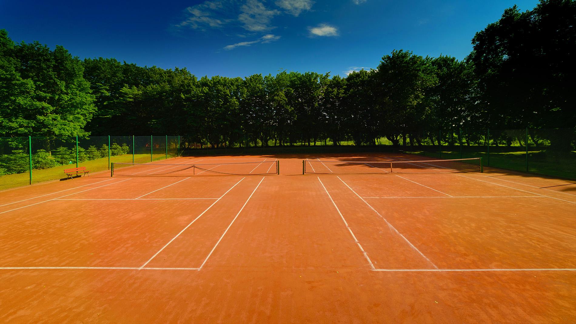 Drulity - korty tenisowe